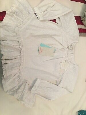 Monsoon Girls Top Blouse Age 5-6 BNWT £20