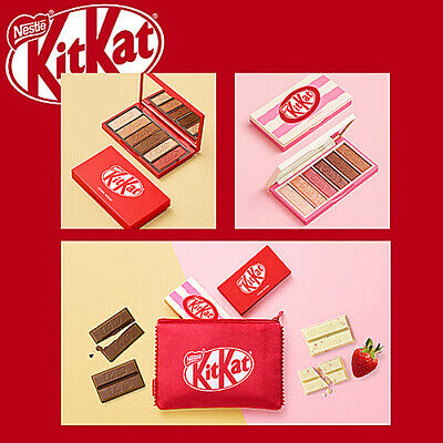 Etude House Kitkat Play Color Eyes Eye Shadow Palette 6 Shade 2 Type Kbeauty