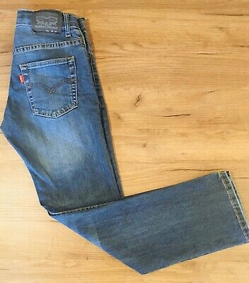 Boys Levi's 511 Slim Blue Denim Jeans Size 12 Reg Age 12