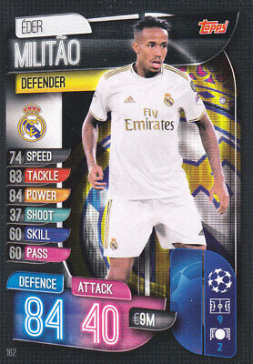 TOPPS MATCH ATTAX CL 2019-20 - Eder Militao - Real Madrid - # 162