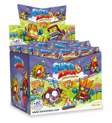 BNIB Full Box Superzings Series 5 One Pack Blind Bag Packets Figures (50 packs)