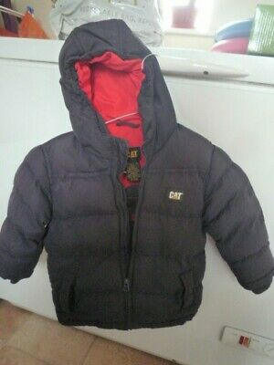 Childs hooded winter jacket by CAT Age 3.