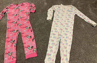 Girls Onesie (not gerber), Hello Kitty and Minnie Mouse X2 Aged 5-6 Years
