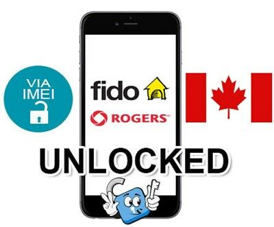 UNLOCK FIDO AND ROGERS CANADA except Sony Ericsson & Samsung 1-4 days