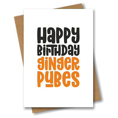 Funny Birthday Card Sibling Boyfriend Husband Girlfriend Wife Best Friend PC356