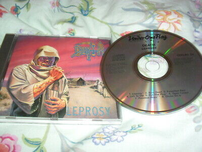 Death -Leprosy- Very Hard To Find First Press Cd Under One Flag England 1988