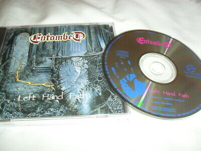 Entombed -Left Hand Path- Very Hard To Find Rare 1992 Japanese Cd Crawl Extra