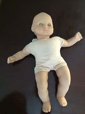 American Girl Bitty Baby Doll Blonde Hair Blue Eyes PRE-OWNED