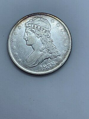 1838 CAPPED BUST HALF DOLLAR - Fine good condition