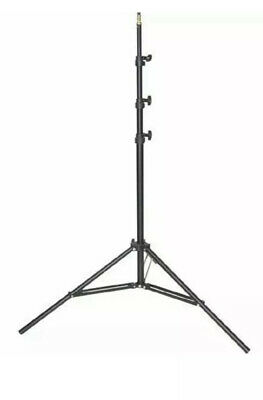 Set Of 2 Impact Air Cushioned Light Stand LS-8A, Black