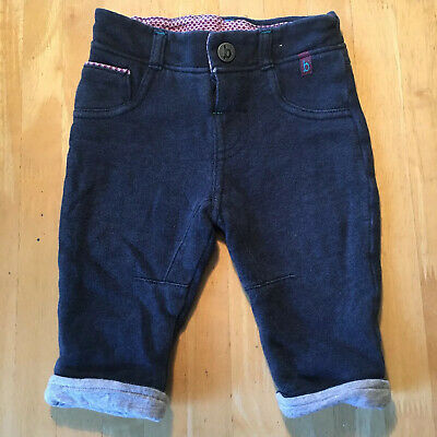BABY Boys Ted Baker 3-6 Months Jersey Jeans Pants