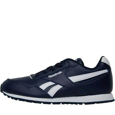 Reebok Classics Boys Royal Glide Trainers Collegiate Navy/White UK Size 1 - 10