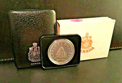 1976 Canada Silver Dollar Library Parliament 50% Silver $1 Coin Fantastic #2