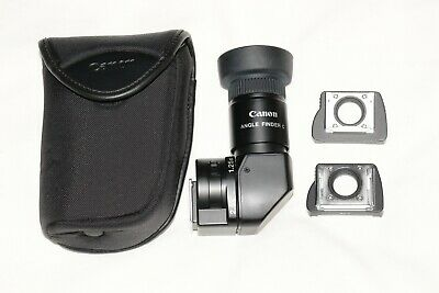 Canon Angle Finder C  Complete & MINT Condition