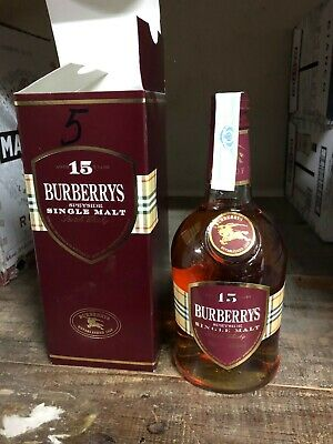 Botella Whisky Burberrys 15 Años 70 Cl.