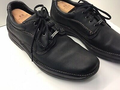 Clarks Active Air Men's Black Leather Waterproof GORE-TEX Lace-Up Shoes UK 8.5