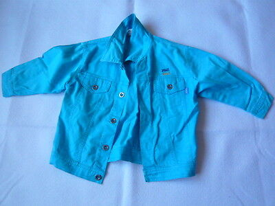 Blue jeans style jacket size 2-3 years old boys 98cm excon