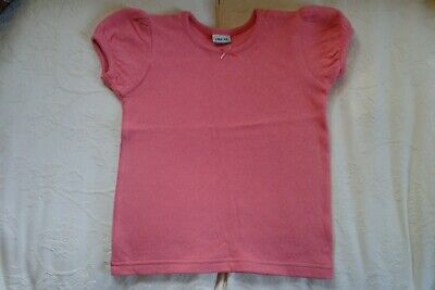 Girls Cherokee Coral T Shirt top age 4-5 Years