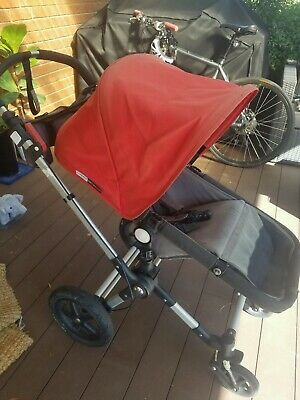Bugaboo chameleon 3. Pushchair, bassinet, raincover, handle, sunshelte