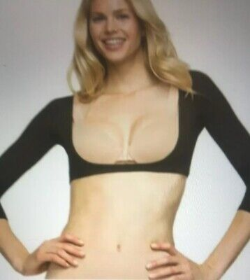 Spanx NWT  Arm Believable Toning Arm Shaper Black  Size L New