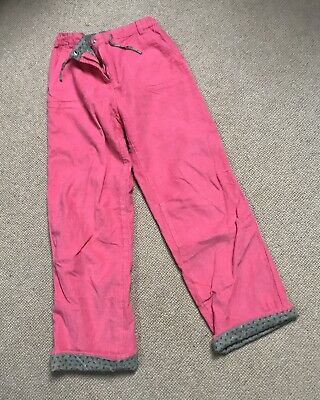 Mini Boden Girls Corduroy Trousers, Age 9-10, Pink , Fully Lined. VGC!