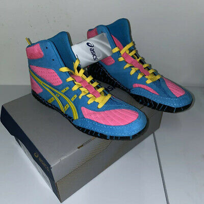 RARE Asics Sissy Aggressor 1 Original Wrestling Shoes Size 9
