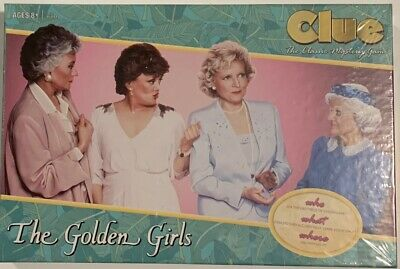 NEW SEALED - CLUE - THE GOLDEN GIRLS Version