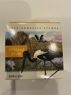 Australian Postage stamps - Box of 45 cent X 100 Self Adhesive Stamps