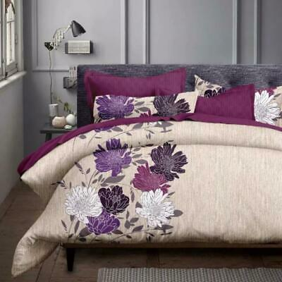 Single/KS/Double/Queen/King/Super K Soft Quilt/Duvet Cover Set-Float Flora