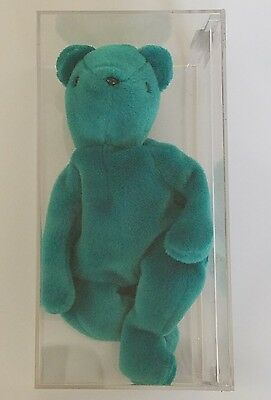 AUTHENTICATED 2nd Gen ~~OLD FACE TEAL TEDDY~~ MINT CONDITION!!  1st Gen TT, NHT