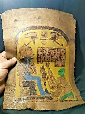 leather.  Pharaonic is very rare. 1
