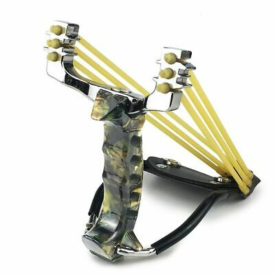 Slingshot Powerful Hunting With 3 Rubber Band Tubing Catapult Professional