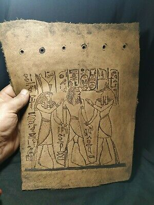 leather.  Pharaonic is very rare .2
