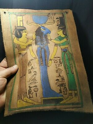leather.  Pharaonic is very rare. 4
