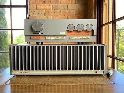 Quad 33 Pre Amplifier and Quad 405 Power Amplifier - Very good condition