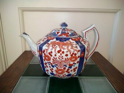 Late 19th/Early 20th Century Japanese Imari Teapot and Cover