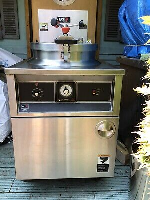 barbacue King FKM Pressure Chicken Fryer 3Phase With Electric Filter