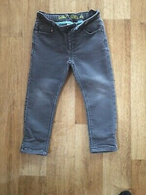 Designer Ted Baker Girls Age 2 To 3 Years Skinny Stretch Jeans Adjustable Waist