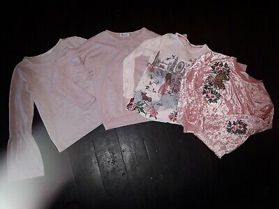 H&M & Monsoon Girls Top Bundle Age 10-12
