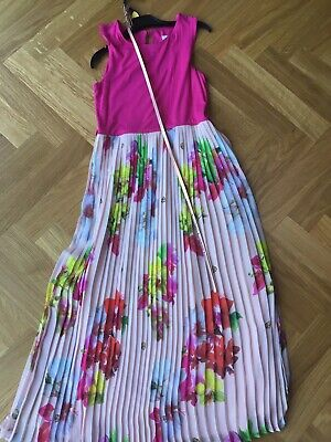 Ted Baker Girls Pleated Dress Age 11