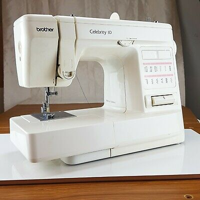 Brother Celebrity 10 Sewing Machine. Fully Serviced, Guaranteed, Threaded Ready