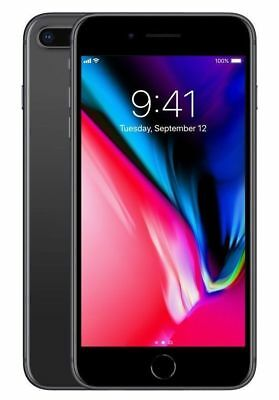 Apple iPhone 8 Plus - 256GB - Space Gray (Unlocked) A1864 (CDMA + GSM) Excellent