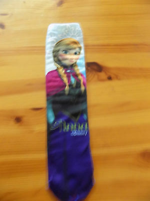 girls Disney Anna frozen  socks size 12 -3.5 approx