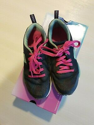 Girls Sketchers navy trainers size 12.5