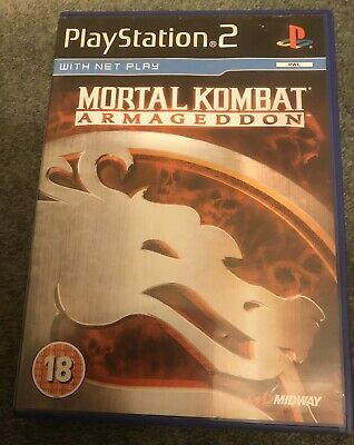 Playstation 2 Mortal Kombat Armageddon Game. Ps2