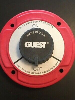 Guest Model 2112 Battery Disconnect