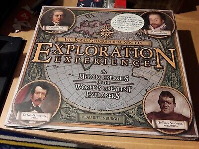 The Royal Geographical Society Exploration Experience Book & Cd Rom
