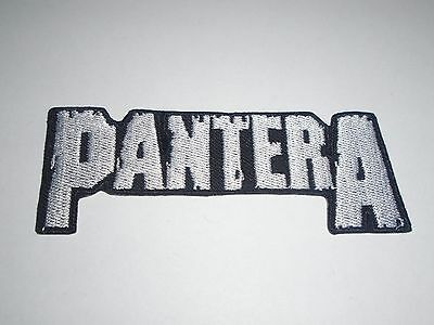 Pantera Logo Iron On Embroidered Patch