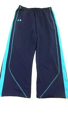 Under Armour Women's Navy Blue Polyester Athletic Sweat Pants Size M