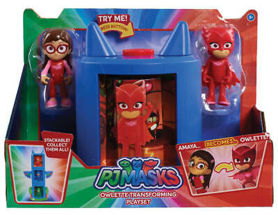 PJ Masks Owlette Transforming Playset with Amaya and Owlette Figure